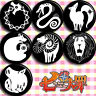 7pcs Anime The Seven Deadly Sins Pin Button Brooch Badge Bedge Cute Gift