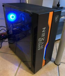 Pc Amd Ryzen 5 3600, Gt710, 8gb Ram, 500gb ssd - Case AMD Edizione Limitata