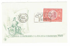 Scott 585 First Day Issue 1949 Lmision Conmemorando La Jura de la Constitucion