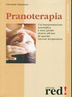PRANOTERAPIA - GIOVANNI IANNUZZO - L'altra Medicina, Edizioni Red, 2002