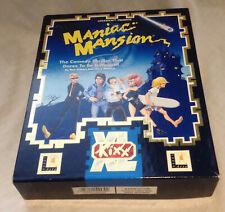 MANIAC MANSION Atari STe ST video computer game retro vintage LucasFilm