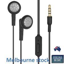 Motorola SJYN0394A 3.5mm Wired Stereo Headset Earphones Headphones Blk