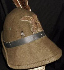 RARE Original WW2 Fascist Italian Alpini Pioneer Cap, Uniform Hat,Elite Insignia