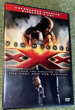 Xxx (Dvd, 2005, 2-Disc Set, Uncensored, Unrated, Directors Cut) Vin Diesel