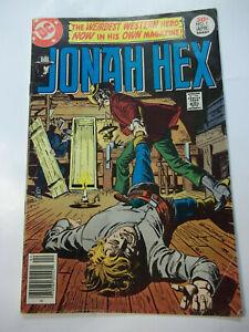 JONAH HEX  #1  (1977)  5.0 VG/VN