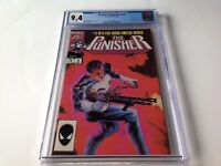 PUNISHER LIMITED SERIES 5 CGC 9.4 WHITE PAGES JIGSAW MIKE ZECK MARVEL COMICS