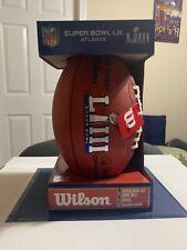 NEW Wilson Duke NFL Super Bowl LIII 53 Official Game Ball Football PATRIOTS 6FS