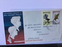 New Zealand 1965 Health Stamps official stamps cover Ref R25953