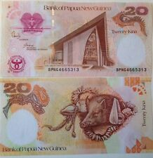 PAPUA NEW GUINEA 2008 20 KINA UNCIRCULATED BANKNOTE P-36 COMMEMORATIVE ISSUE !!