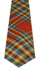 CHATTAN CLAN ANCIENT TARTAN  PURE WOOL TARTAN TIE by LOCHCARRON of SCOTLAND