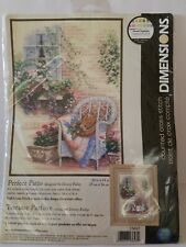 Dimensions Perfect Patio Counted Cross Stitch Kit 13697 Donny Finley