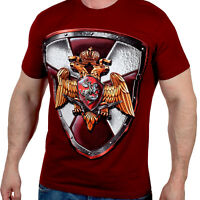 T-shirt Emblem of the special forces of the Russian guard Spetsnaz RUSSIA TShirt