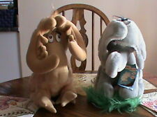 Dr. Seuss THIDWICK THE BIG HEARTED MOOSE and HORTON Plush Toys1983