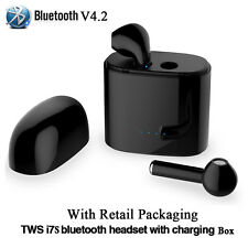 Amazing V4.2 wireless earphones bluetooth A pair Headset + Free Charge Box 2018