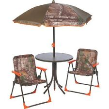 Mosaic Realtree Xtra Camo 4 Piece Patio Set Outdoor Furniture Chairs Dining