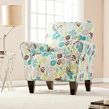 CAC80939 FLORAL ACCENT CHAIR