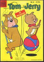 Tom und Jerry Nr.21 von 1958 - TOP Z1 ORIGINAL ERSTAUFLAGE COMICHEFT Moewig