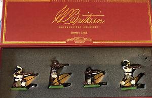 Britains: Boxed Set 00146 - Zulu Warriors Firing, 1879. 54mm Metal Models