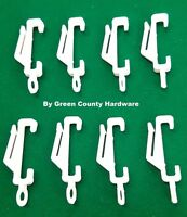 HARRISON DRAPE standard & superdrape gliders / curtain hooks 10 pack