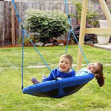 HOMCOM Infantil Jardín Columpio Nido Carga 100kg Tela de Oxford