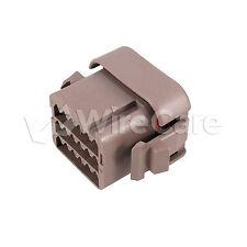 DTV06-18SD - DTV Series Plug - 18 Way, End Cap, D Key, Brown