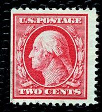 1908 US SC#332 2c Washington Mint no gum