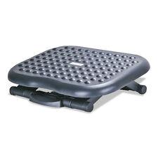 Alera Relaxing Adjustable Footrest, 13 3/4w x 17 3/4d x 4 1/2 to 6 3/4h, Black
