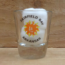 "FAIRFIELD BAY, ARKANSAS ""Shot Glass"" orig."