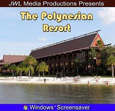 Polynesian Resort Windows Photo CD Walt Disney World