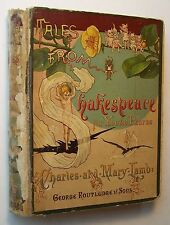 TALES FROM SHAKESPEARE Charles & Mary Lamb DECOR. HC circa 1889 ILLUSTRATED - 10