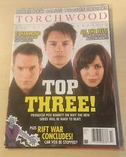 TORCHWOOD OFFICIAL MAGAZINE ISSUE 13 John Barrowman Eve Myles Gareth David Lloyd