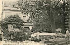 CPA 30 INONDATIONS DE SOMMIERES 26 SEPT 1907 RTE DE MONTPELLIER VILLA ST LOUIS A