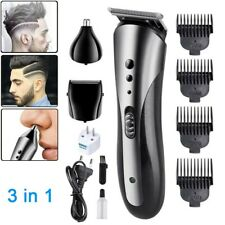 Men Professional Hair Clippers Trimmers Cutting Machine Cordless Beard Shaver US