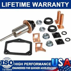 Starter Solenoid Repair Rebuild Kit For TOYOTA HONDA Dodge Replacement Accessory