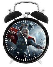 "Thor Alarm Desk Clock 3.75"" Home or Office Decor E462 Nice For Gift"