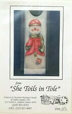 New ListingBobbie Campbell Christmas Tole Painting Pattern Packet Poor Little Match Girl