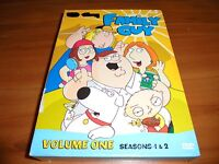 Family Guy - Volume 1: Seasons 1 & 2 (DVD, 2009, 4-Disc) Used 1st 2nd One Two
