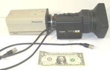 Panasonic AW-E600 Convertible Camera w/ Canon BCTV zoom Lens YH18 x 6.7 KTS