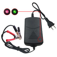 KQ_ Car Battery Maintainer Charger 12V 1A Portable Auto Trickle Boat Motorcycle