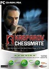 Kasparov Chessmate (2003) PC CD-ROM/PDA-guter Zustand-Kostenlose UK Lieferung
