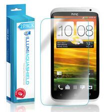 2x iLLumi AquaShield Crystal HD Clear Screen Protector Shield for HTC One X