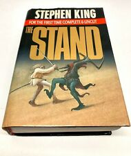 The Stand by Stephen King (1990, Hardcover) Uncut Edition