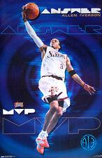 Allen Iverson THE ANSWER 2001 NBA MVP Philadelphia 76ers Costacos POSTER
