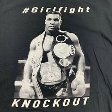 Mike Tyson Men's Size Small T-Shirt Boxing Knockout Champion Girlfight