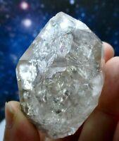 64g Large Natural Herkimer Diamond Quartz Crystal with Rainbows NY 💎✨🌈