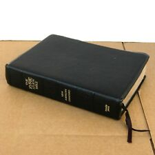 1978 Ryrie Study Bible New American Standard Cowhide Leather Moody Press