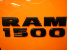 Dodge Ram Truck fender logo black RAM 1500 nameplate 68247897AA oem new