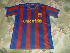 MENS LIONEL MESSI SOCCER JERSEY FCB FOOTBALL CLUB DE FC BARCELONA SHIRT