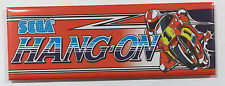 Hang On Arcade Game Marquee Fridge Magnet