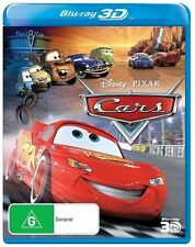 Cars 3D DVDs & Blu-ray Discs